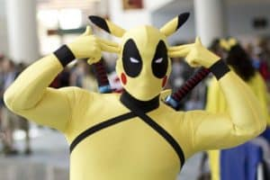 deadpool pikachu funny pictures