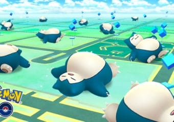 Snoozing with Snorlax!